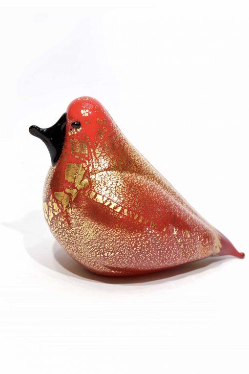 piccione in vetro di murano