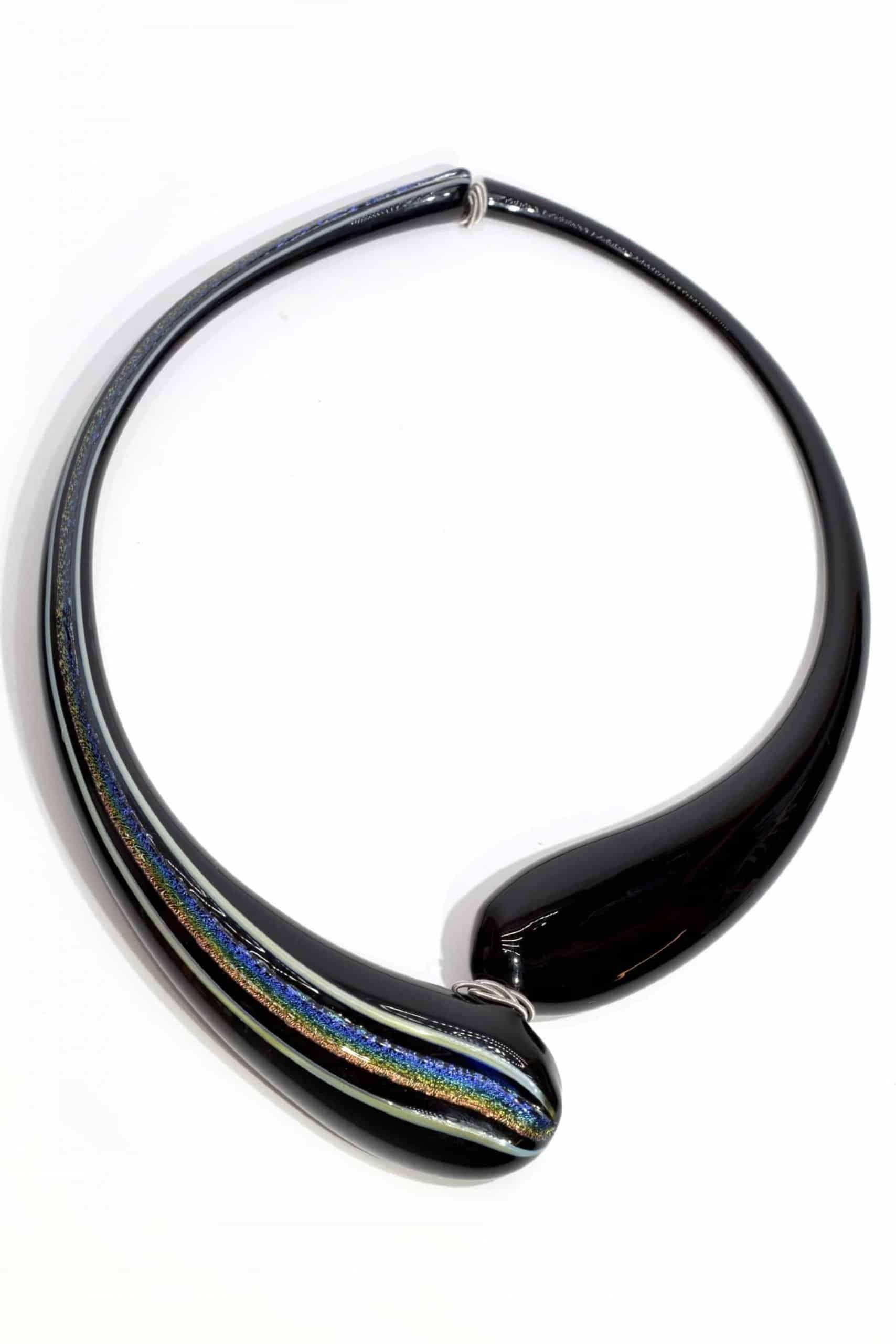 collana soffiata in vetro di murano - murano glass necklace