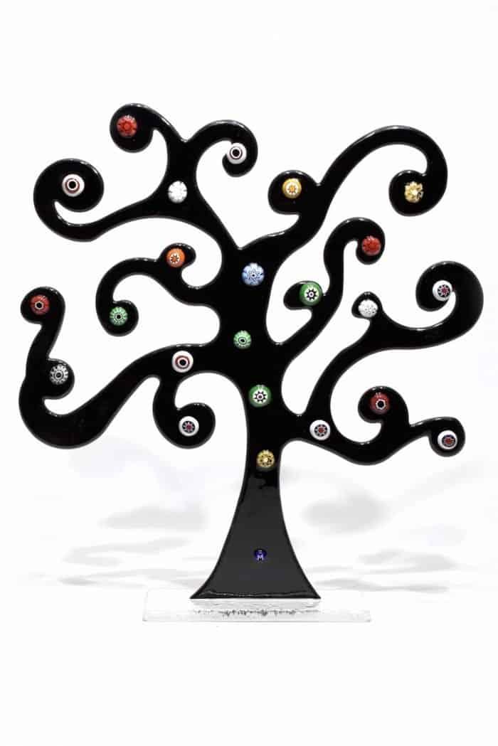 albero della vita di klimt in vetro di murano glass klimt life tree