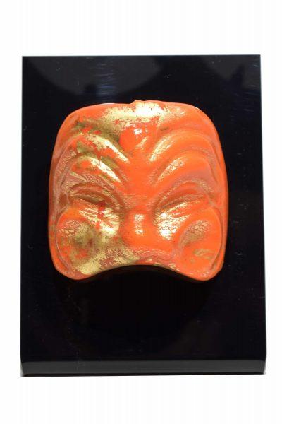 maschera veneziana in vetro di murano