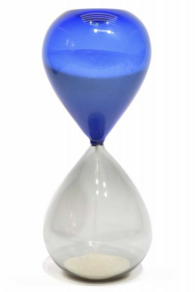 clessidra in vetro di murano glass hourglass