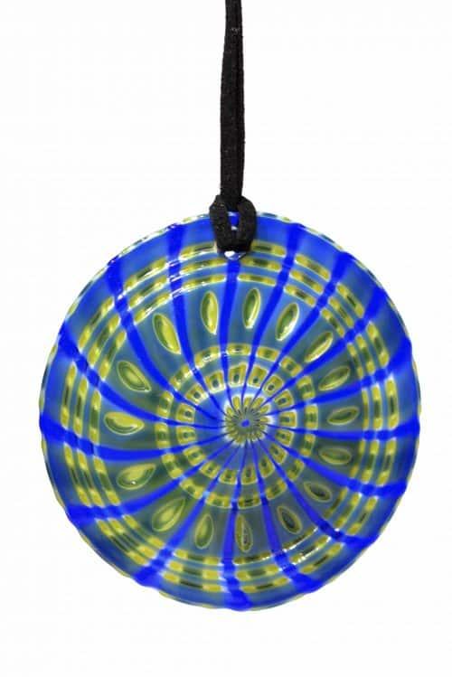 pendente battuto in vetro di murano glass pendant