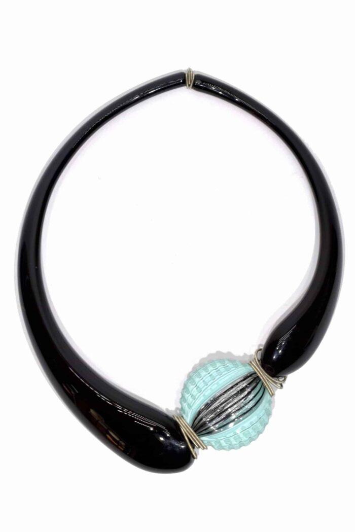 collana girocollo in vetro di murano glass necklace