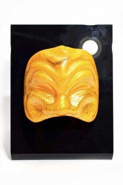 maschera in vetro di murano glass mak