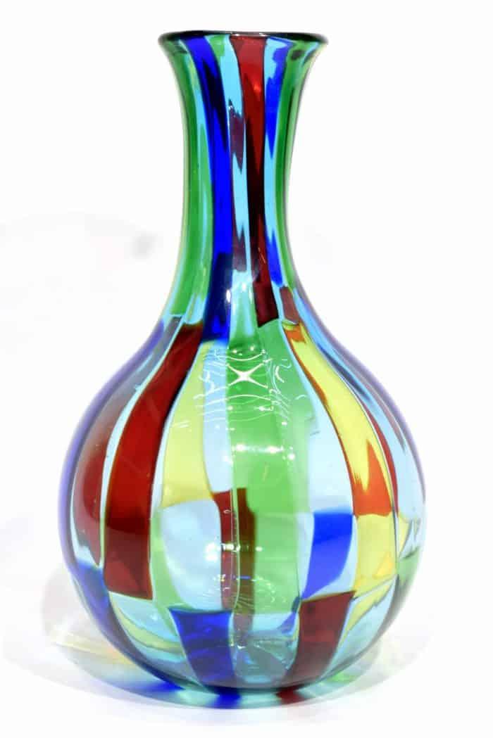 vaso pezzato in vetro di murano glass vase