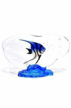 acquario in vetro di murano gas acquario