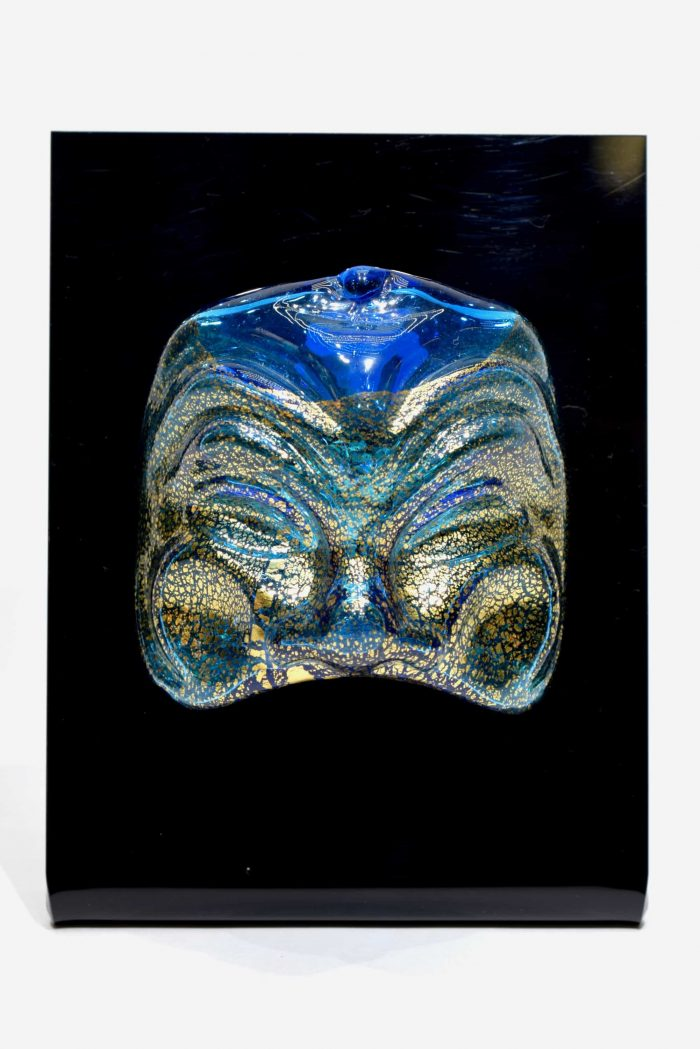 maschera in vetro di murano glass mask