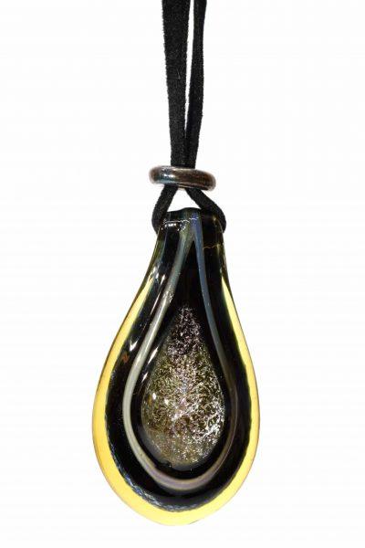 pendente in vetro soffiato di murano glass pendant jewelry