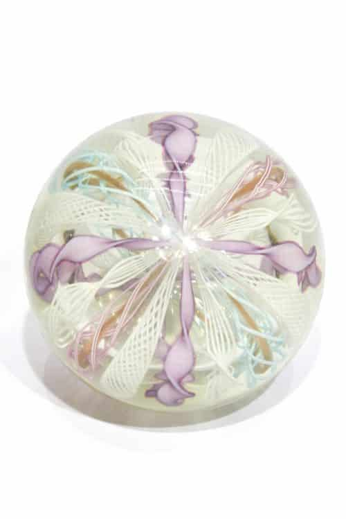 fermacarte vintage in vetro di murano glass paperweight