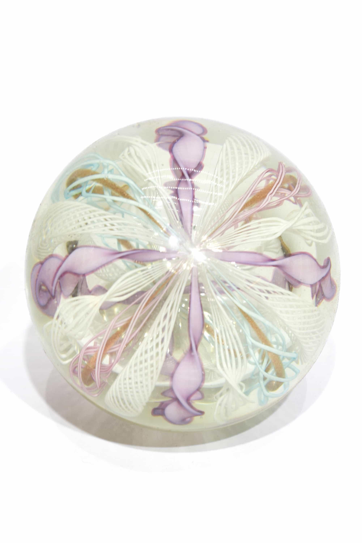fermacarte vintage in vetro di murano glass paperweight