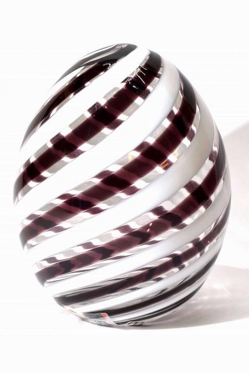 uovo in filigrana in vetro di murano glass egg