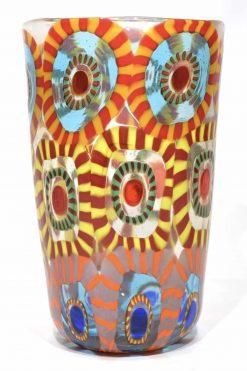 bicchiere in vetro di murano