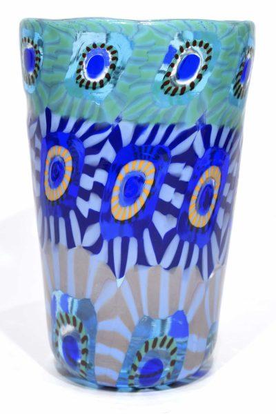 bicchiere goto in vetro di murano