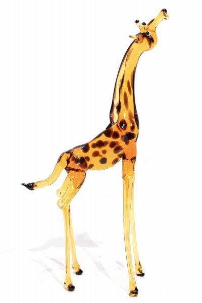 giraffa in vetro soffiato di murano