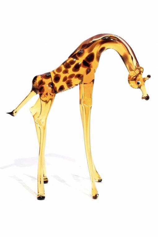 giraffa in vetro di murano