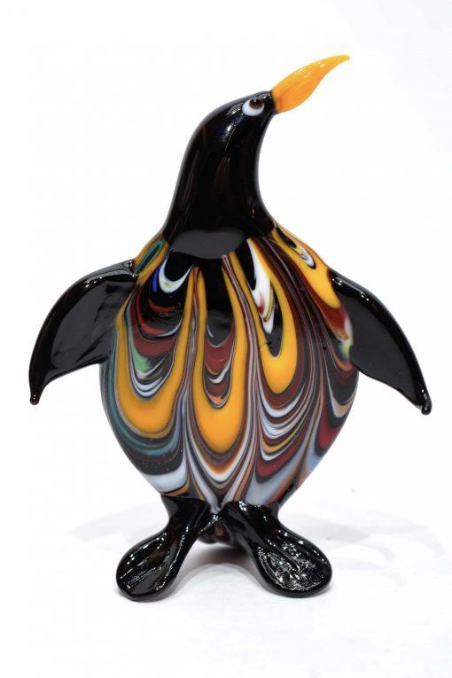 pinguino in vetro di murano