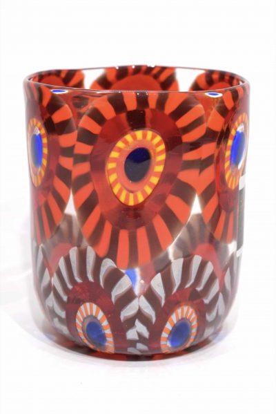 bicchiere in vetro di murano goto veneziano