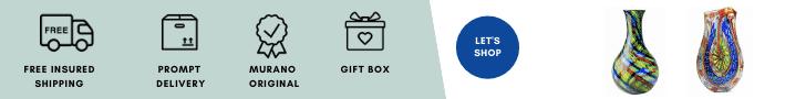 vasi murano moderni di gv oggettistica shop murano online.