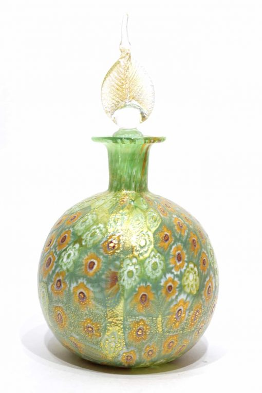 bottiglia murrine ein vetro di murano