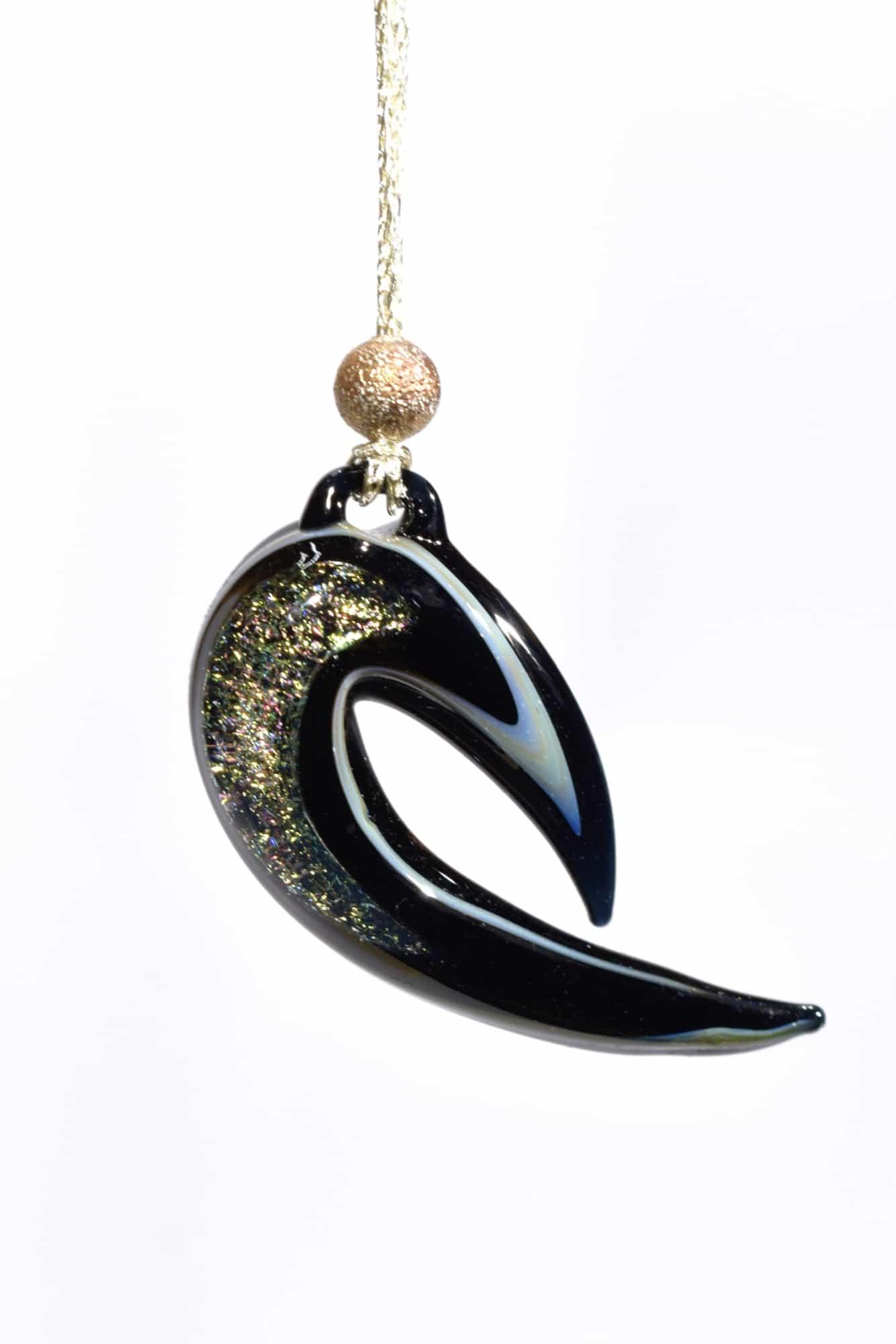 gioiello pendente in vetro di murano