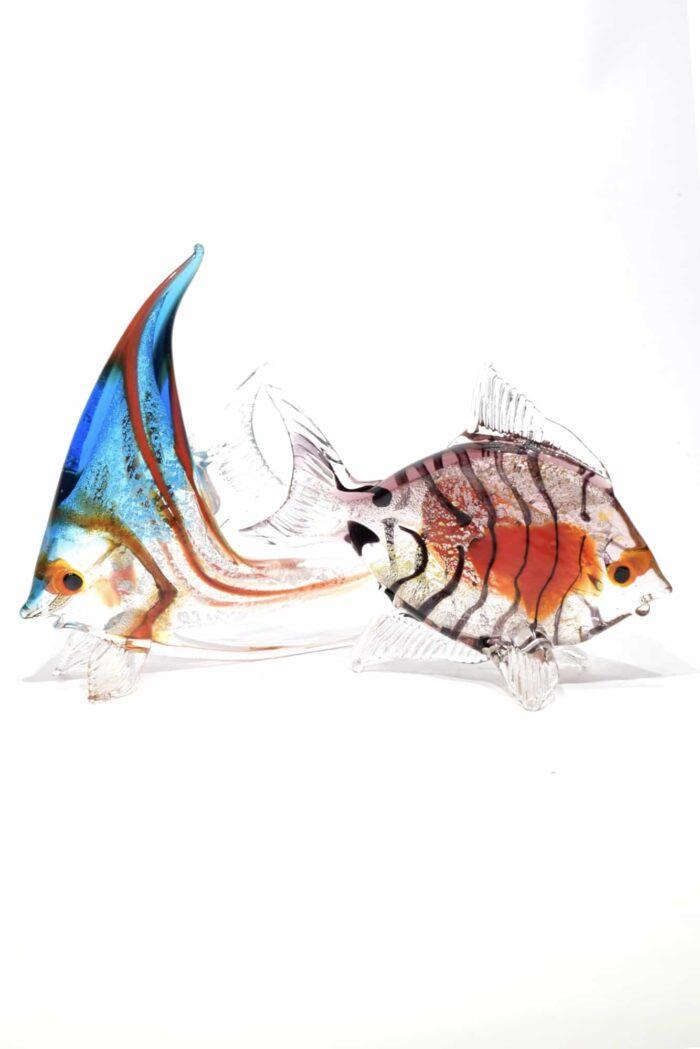 pesci in vetro di murano