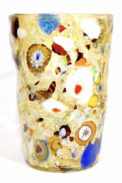 Murano glass cup