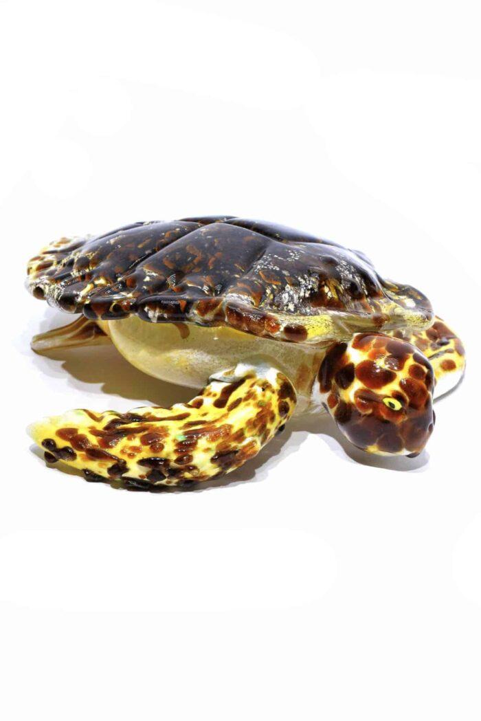 tartaruga in vetro di murano