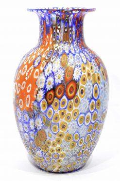 vaso murrine in vetro di Murano
