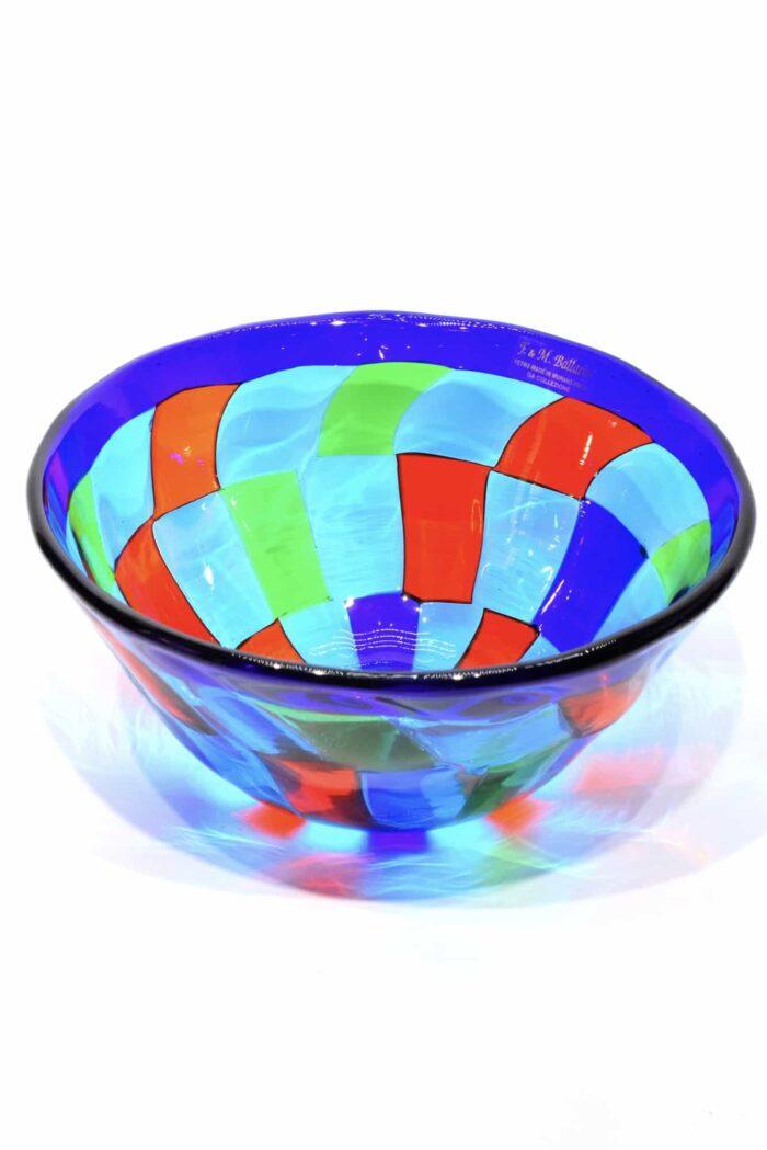 coppa pezzata in vetro di murano