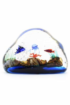 acquario in vetro di muano