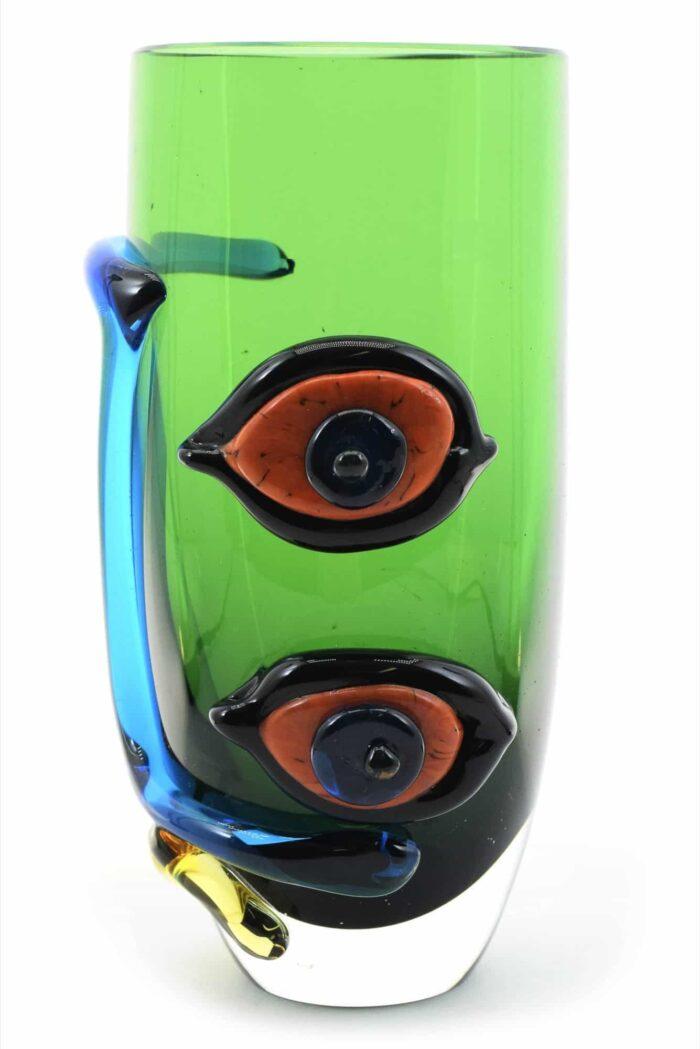 Bicchiere picasso in vetro di Murano