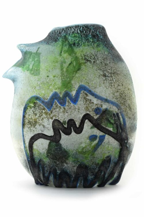 ermanno nason vaso in vetro di murano