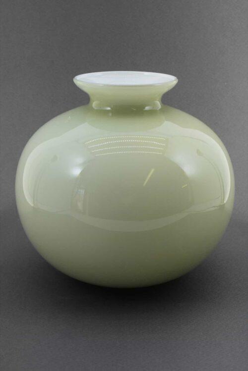 vaso opale vintage in vetro di murano