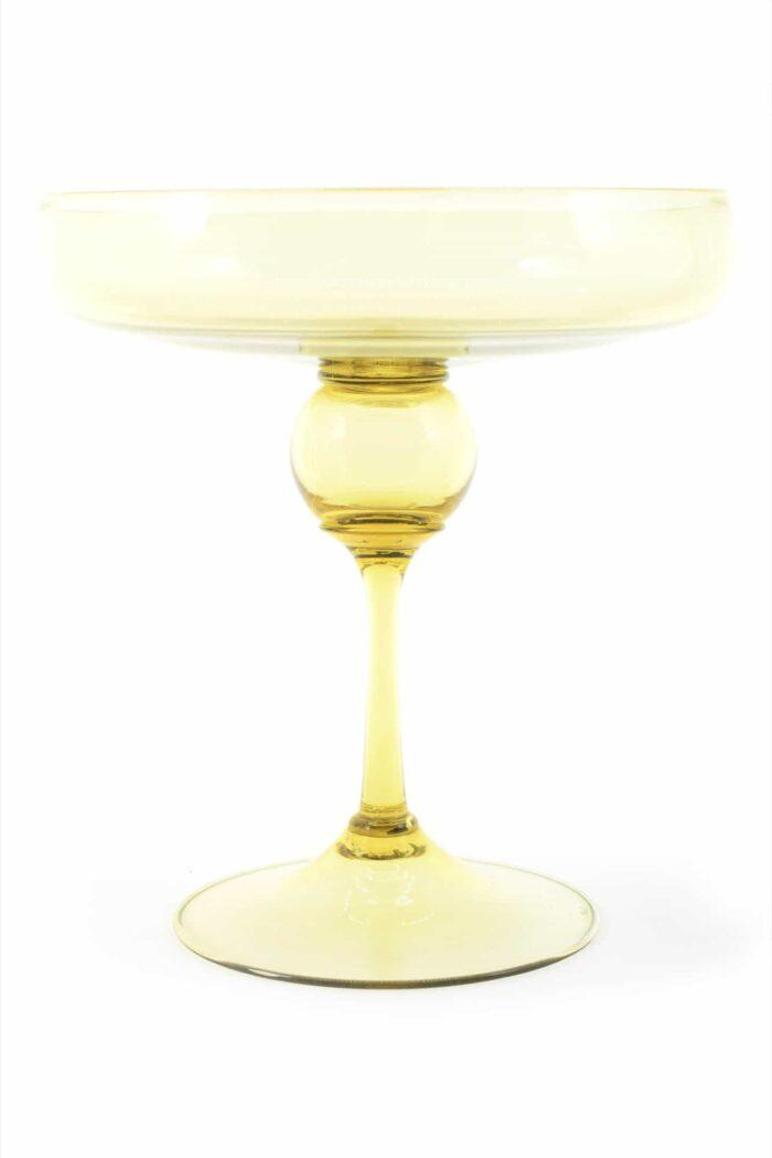 Coppa Centrotavola vintage in vetro di murano