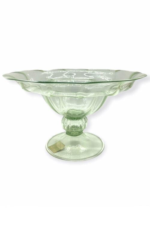 vittorio zecchin coppa vintage in vetro di murano