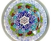 Silvano Signoretto Fermacarte artistico in vetro di Murano