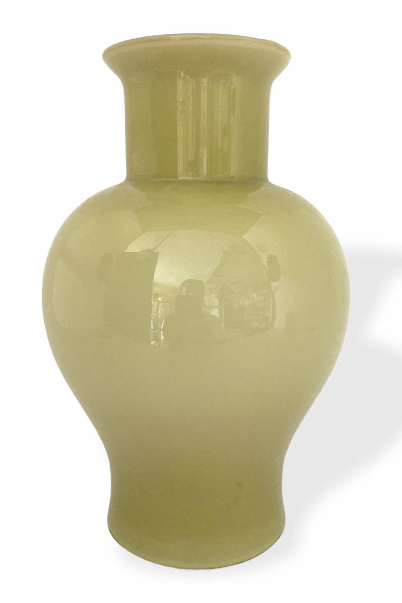 vaso opale in vetro di murano